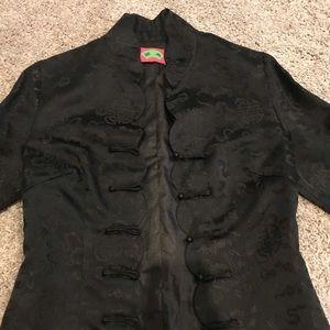 Black jacket 3/4 sleeve